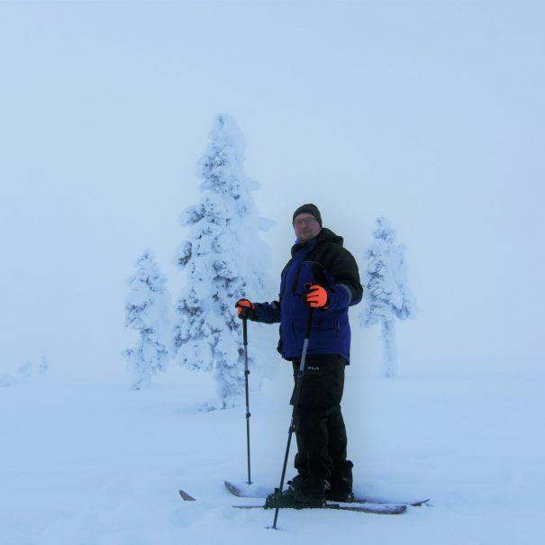 Altai skiing in Ivalo - Inari - Saariselka